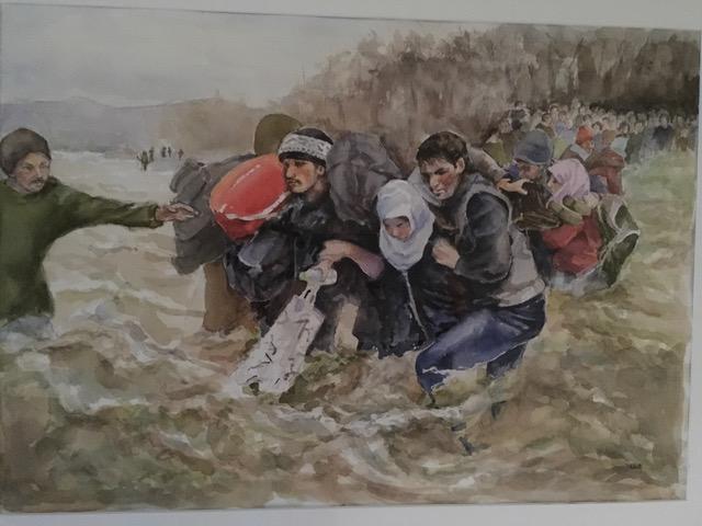 Crossing to Macedonia